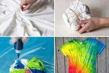 Tie A Dye / Tie Dye Fashion