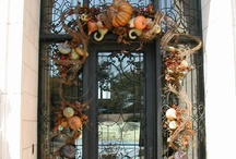 Fall outdoor garland ideas