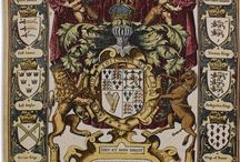 Crest Royal Shield French Decor / royal crest shields french decor decoration tapestries tapestry