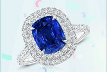 3.27 Carats Claw Cushion Sapphire and Diamond Double Halo Ring (GIA Certified Blue Sapphire)