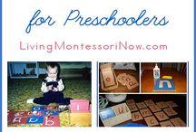 Home School Montessori: Preschool (ages 3 to 6)