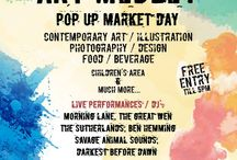 Art Medley Pop up Market Day / A day in aid of SCT Spitalfields Crypt Trust at Hackney Showroom