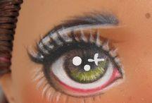 oči. auge