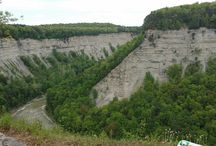 Letchworth State Park, NY / Scenic views from Letchworth State Park in New York