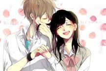 anime | couples.