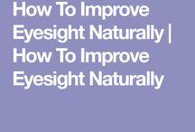 how to improve ur eyesight