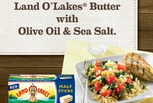 #SundaySupper with  LAND O LAKES® / Fabulous #SundaySupper event inspired by  LAND O LAKES® Butter with Olive Oil and Sea Salt  / by Sunday Supper
