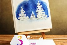 Painting / Get ready for more fun in 3 days & win Hobby Ideas goodies by sharing your creations in the comments below