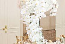 Emma flower centrepieces