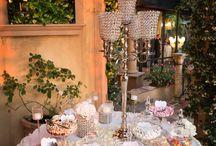 Italian Wedding Sweets Table