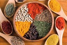 """ The spice of life!"" / Various herbs and spices, and new side dishes, lend additional health benefits to a meal.. So, Spice things up! Experiment your way to better health. / by Ella C. Cobb"
