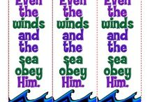 "Jesus Calmed the Storm Bible Activities / Encountering a violent storm on the sea, the disciples called on Jesus to help them. He had been sleeping, but He calmed the storm instantly and asked, ""Where is your faith?"" These Bible activities will help children learn about the event, and see that they can trust Jesus no matter what their circumstances."
