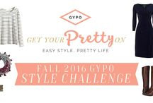GYPO Style Challenge | Fall 2016 / This board is for participants of the Fall 2016 GYPO Style Challenge.