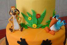 tortas rey leon