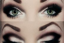 Xoma Salon  Spa, Short Hills, NJ Smoky eye with heavy black dramatic crease eye makeup