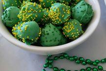 St. Patrick's Fun Food Sweets Drinks