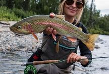 Trout and fly fishing