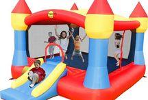 Gran Castillo Hinchable Happyhop Súper XXL 20m2 con rampa tobogán / Este hinchable está formado por una zona de juego y salto y una amplia rampa-tobogán con una superficie total de 20 m2.  http://www.castilloshinchablessaltofeliz.com/producto/gran-castillo-hinchable-happyhop-s-per-xxl-20m2-con-rampa-tobog-n