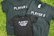 Shirt Ideas / Personalized T-Shirt and Baby Onesie Ideas!