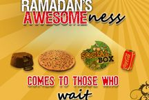 Hunger Patience! / Hunger patience is our slogan for the month of Ramadan. The month is all about patience and self-control. We bring you the best deals and offers that will be worth the wait!!:)