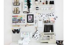 needle work room ideas