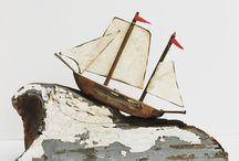 loďky a vlny