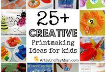 Print making ideas