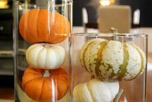Autumn home decoration