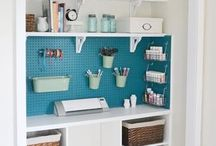 Closet sewing room / by Norma Robertson