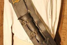 Crossbelts / Piratengurte / Crossbelts von mir hergestellt ...