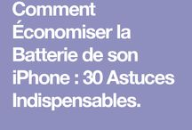 Astuces / I phone batterie