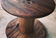 Spool table / by Audrey Partin