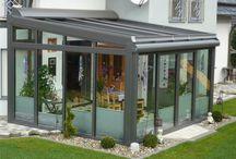 Glass-veranda