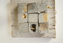 small assemblage & boxes