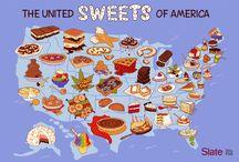 "United ""Sweets"" of America / American desserts project / by Guðfinna Harpa Árnadóttir"