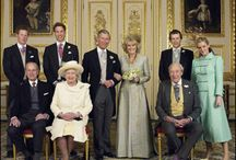 Photographs of the Royal Family.