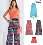 Sewing patterns - pants and skirts