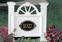 Fence Accessories / Spice up your front or backyard with these beautiful products!