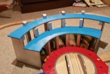 DIY Toys / Things I have made and built for my kids. Lego, train tracks, wooden toys.