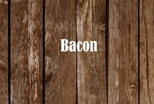Bacon, Bacon, Bacon / We love bacon so much we created our own handcrafted brand, packaged it in a can so it can lasts years (if you have the will power!) and be there for you in an emergency situation such as the apocalypse or... a breakfast of only eggs!  |  www.MREdepot.com