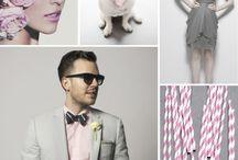 Wedding {grey & pink}