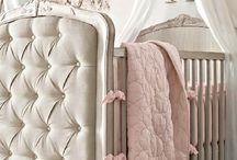 Habitación de bebé para niña