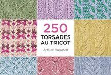 250 torsades au tricot