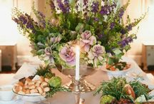 Easter Floral Table Decorations Formal