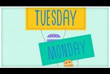 Morning meeting/calendar