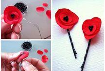 flores de tela / by elba
