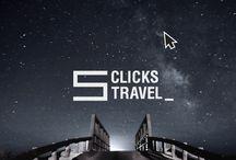 5ClicsTravel / Брендинг (концепция, нэйминг, логотип, фирменный стиль)