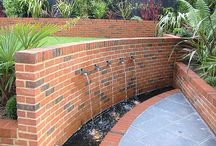 Water feature / a collection of different water feature ideas