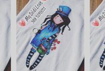 My sister's handmade t-shirt