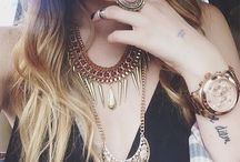 Boho and hipster style... maybe u r and don't know...